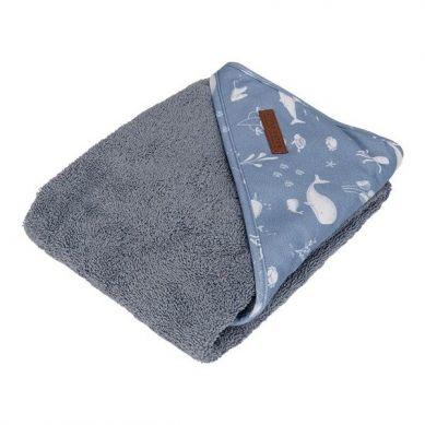 Little Dutch - Bawełniany Ręcznik Ocean Blue