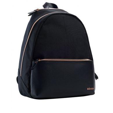 Beaba - Plecak dla Mamy San Francisco Black/pink gold