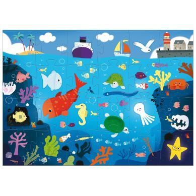 Djeco - Puzzle Gigant w Morzu