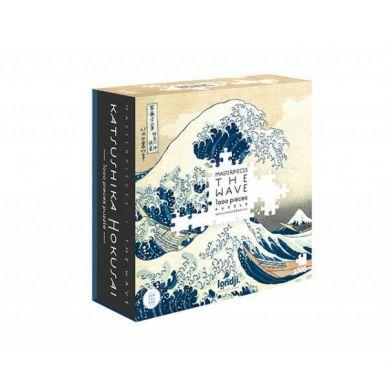 Londji - Puzzle 1000 el. The Wave - Hokusai 5/8 lat