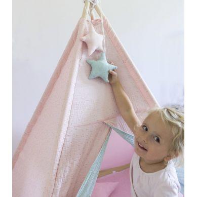 Muzpony - Muślinowe Tipi dla dzieci Bilink Pink