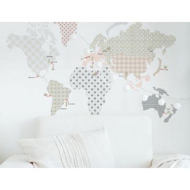 Dekornik - Naklejki Ścienne Mapa 1 180x107cm