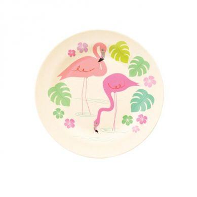 Rex - Talerz Bambusowy Flamingo Bay