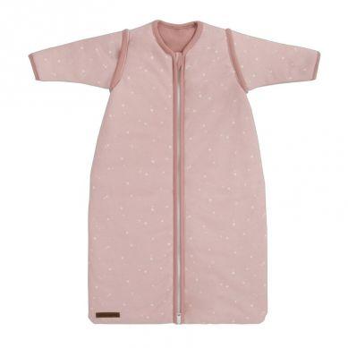 Little Dutch - Śpiworek z Odpinanymi Rękawkami 70 cm Little Stars Pink