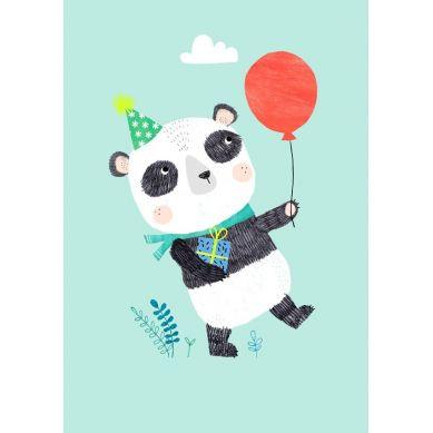 Petit Monkey - Pocztówka/Kartka na Życzenia Panda