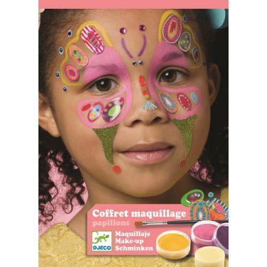 Djeco - Farby do Malowania Twarzy Butterfly