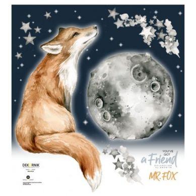 Dekornik - Naklejka Ścienna na Dobranoc Mr Fox