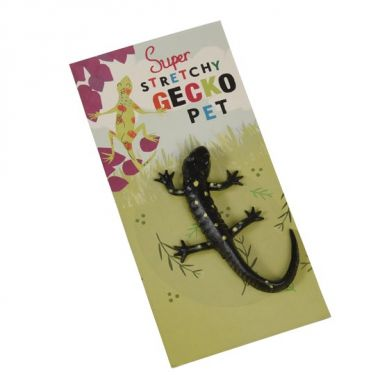 Rex - Gumowy, rozciągliwy Gecko Black