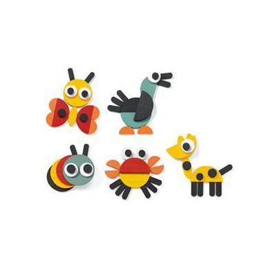 Djeco - Zabawka Wczesnorozwojowa Wzory Geometryczne