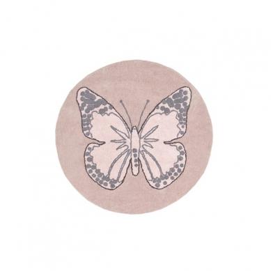 Lorena Canals - Dywan do Prania w Pralce Butterfly Nude