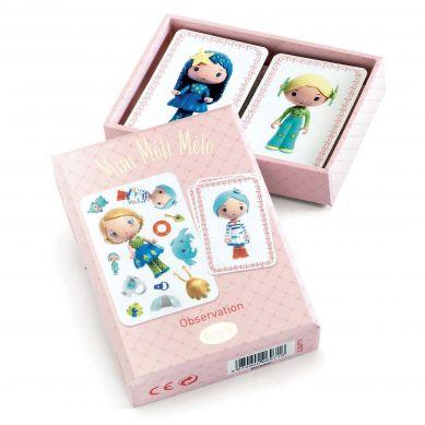 Djeco - Gra Karciana Mini Melo Tinyly 4+