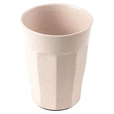 KIDodo - Kubek z Przyssawką z Eko Plastiku Beżowy