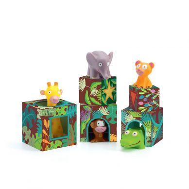 Djeco - Klocki Maxi Topanji-Jungle