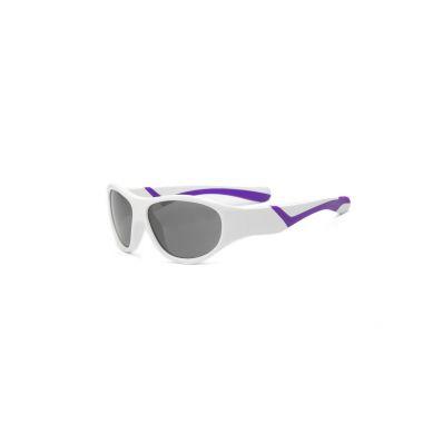 Real Kids - Okularki dla Dzieci Discover White and Purple 4+