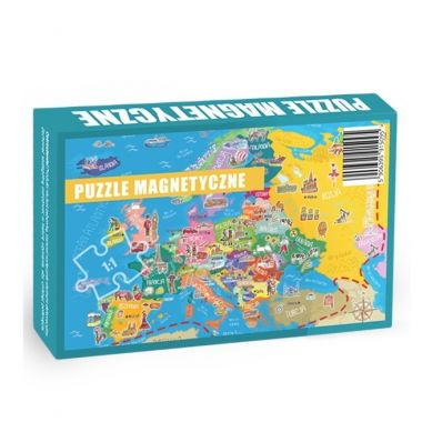 Maka Kids - Puzzle Magnetyczne Poznaje Europę