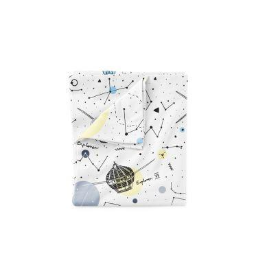 Lullalove - Bawełniana Pościel 100x135 cm Space