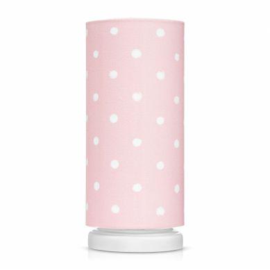 Lamps&co. - Lampka Nocna Lovely Dots Pink ze Ściemniaczem