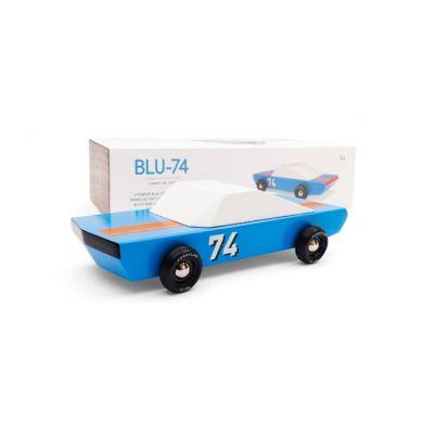 Candylab - Samochód Drewniany Blue 74