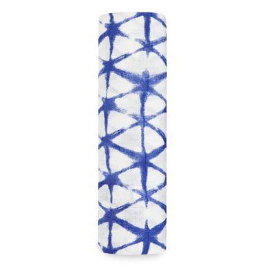 aden + anais - Otulacz Bambusowy Indigo Cubic