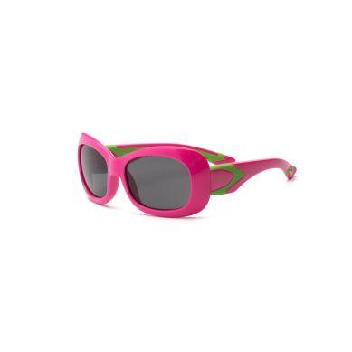 Real Kids - Okularki dla Dzieci Breeze Polarized Cherry Pink and Lime 7+