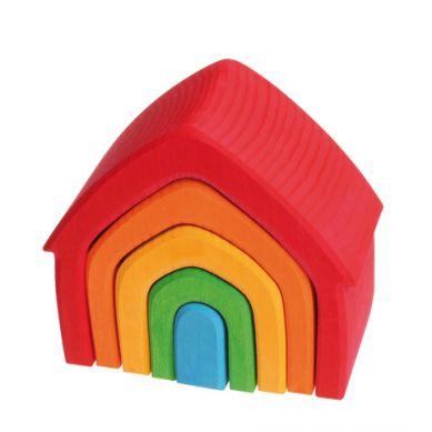 Grimm's - Kolorowy Dom 5-elementowy 1+