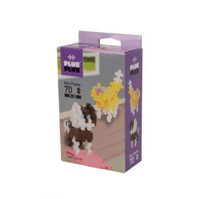 Plus Plus - Klocki Mini Pastel 70 Psy