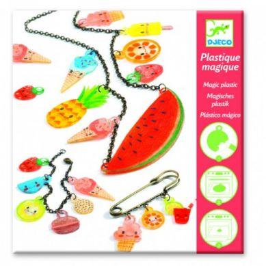 Djeco - Zestaw Kreatywny Magiczna Biżuteria Sweet