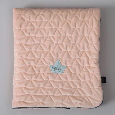 La Millou - Kocyk Velvet Collection 110x140 cm Powder Pink Bright