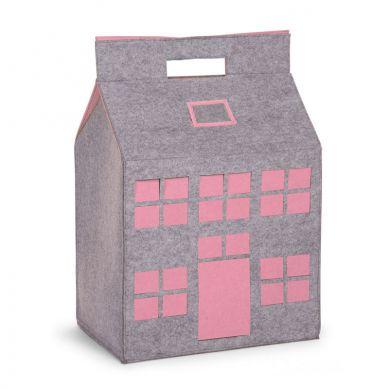 Childhome - Filcowy Domek na Zabawki Różowy