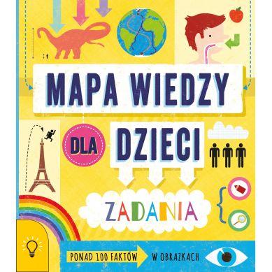Wydawnictwo Smart Books - Mapa Wiedzy dla Dzieci 100 Faktów z Infografiką Zadania
