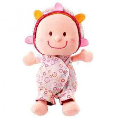 Lilliputiens - Szmaciana Lalka w Nosidle Baby Eline 9m+
