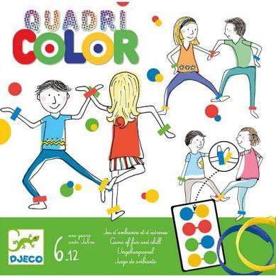 Djeco - Gra Quadricolor