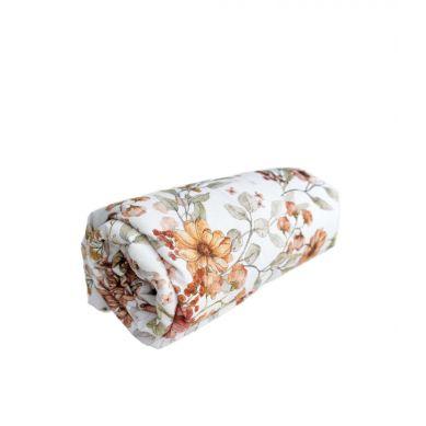 Muzpony - Prześcieradło do Łóżeczka Coco Flower 120x60cm