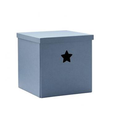 Kids Concept - Star Pudełko Kartonowe Blue