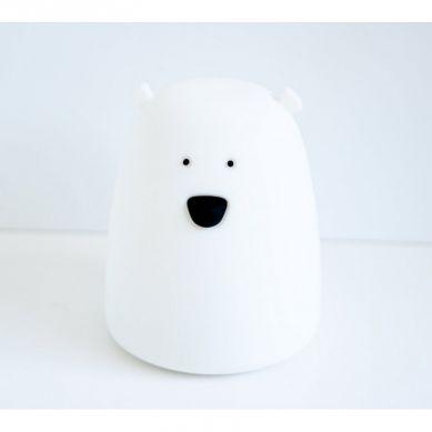 Rabbit&Friends - Lampka Miś Duży Biały