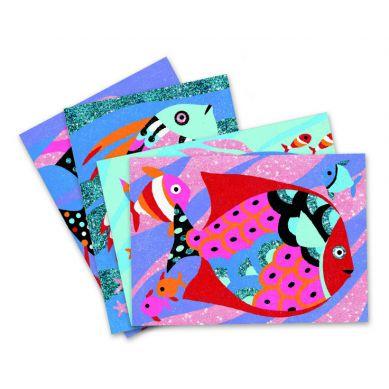 Djeco Zestaw Artystyczny Tęczowe Ryby