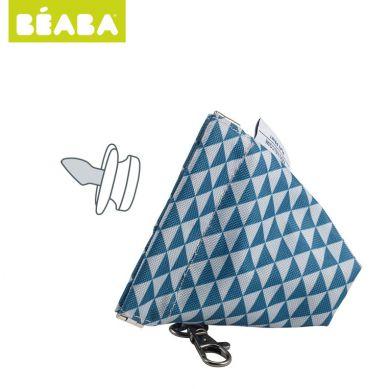Beaba - Opakowanie na Smoczek Play Print Blue