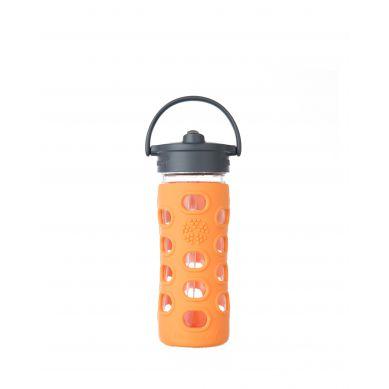 Lifefactory - Butelka Szklana dla Dzieci 350ml Orange