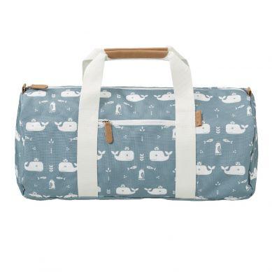 Fresk - Torba Weekend Bag Wieloryb Niebieski