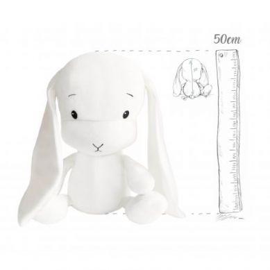 Effiki - Maskotka Królik Effik L Biały 50cm