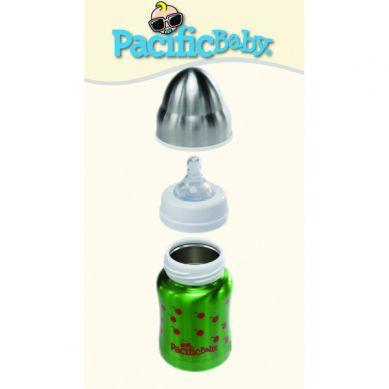 Pacificbaby - Termobutelka 3w1 200ml Zielona