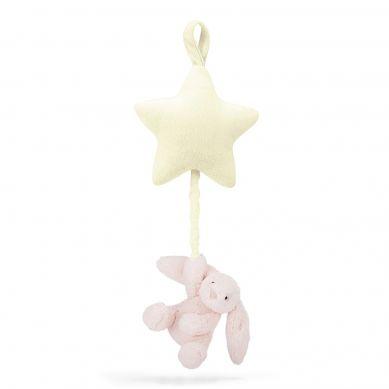 Jellycat -  Pozytywka Gwiazdka z Króliczkiem Pink