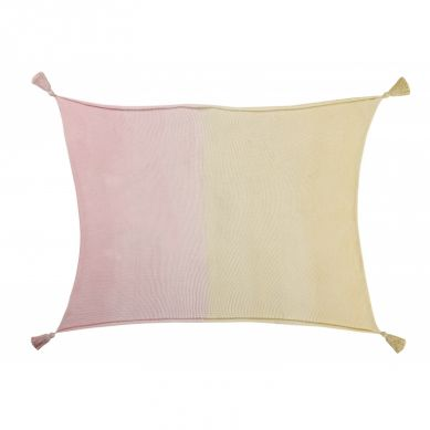 Lorena Canals - Bawełniany Koc Ombre Vanilla Soft Pink
