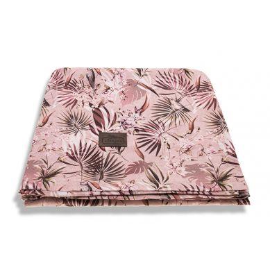 Sleepee - Otulacz Bambusowy Jungle Powder Pink 3 w 1 Chusta, Otulacz i Kocyk