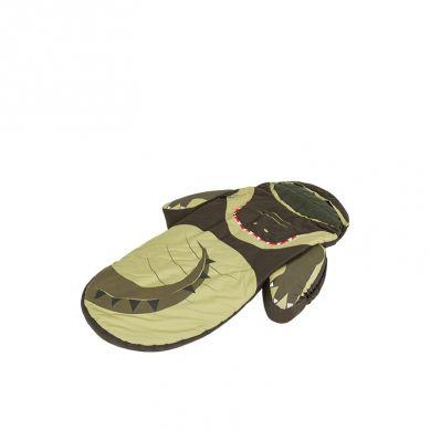 LittleLife - Łóżeczko Turystyczne ze Śpiworem Krokodyl