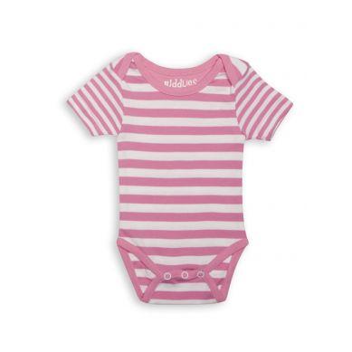 Juddlies - Body Sachet Pink Stripe 6-12m