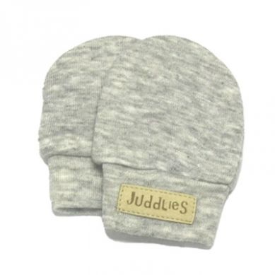Juddlies - Rękawiczki Niedrapki Light Grey