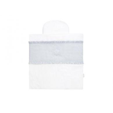 Caramella - Mini Pościel do Kosza Mojżesza Pure Grey 60x60cm/30x20cm