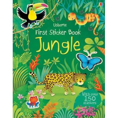 Wydawnictwo Usborne Publishing - First Colouring Book: Jungle