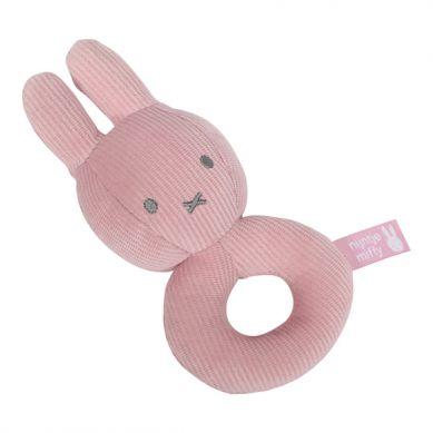 Tiamo - Grzechotka Miffy Pink Babyrib